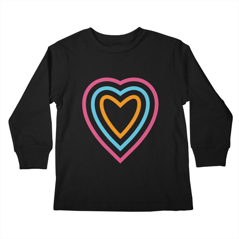 Color Love Kids Longsleeve T-Shirt by elizabethreay's Artist Shop