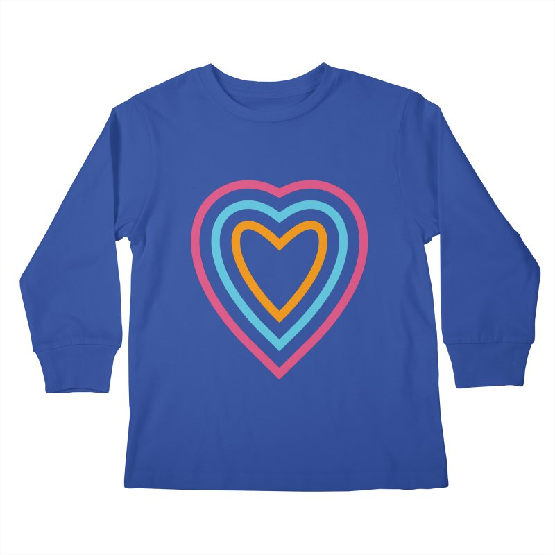 Color Love Kids Longsleeve T-Shirt by elizabethreay's Artist Shop