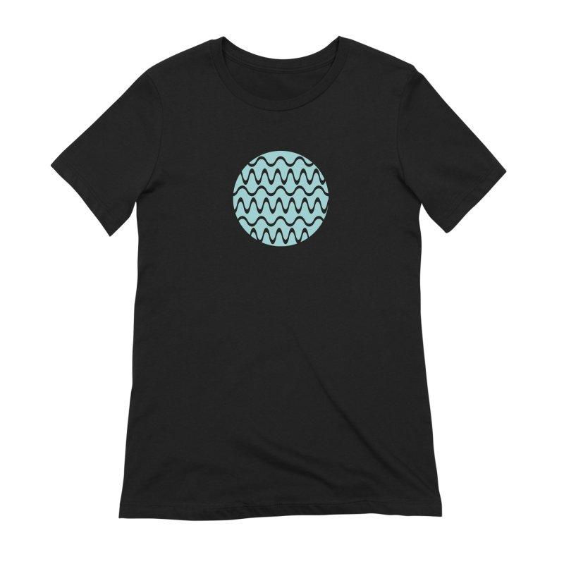 Planet Wave Women's Extra Soft T-Shirt by elizabethreay's Artist Shop