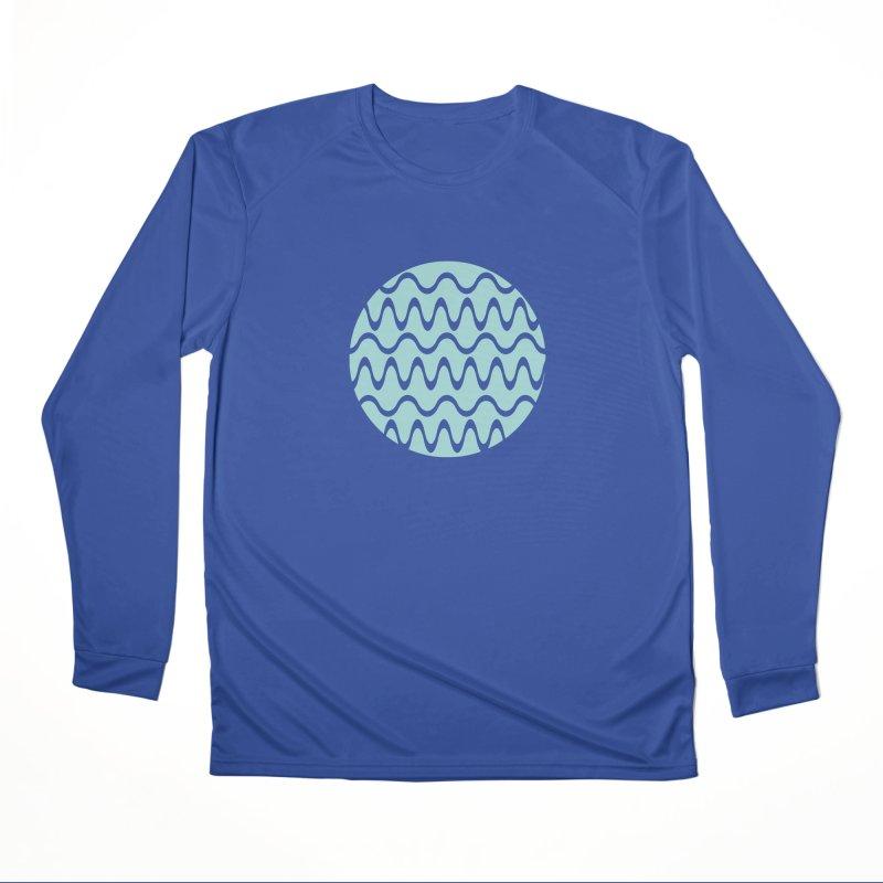 Planet Wave Men's Performance Longsleeve T-Shirt by elizabethreay's Artist Shop