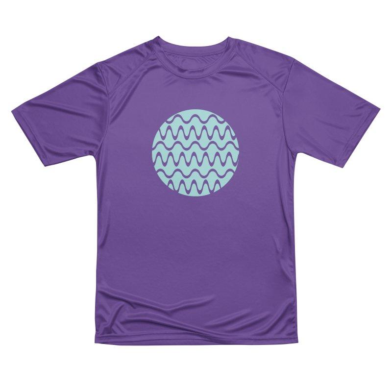 Planet Wave Women's Performance Unisex T-Shirt by elizabethreay's Artist Shop