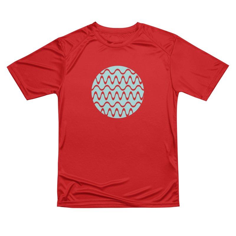 Planet Wave Men's Performance T-Shirt by elizabethreay's Artist Shop