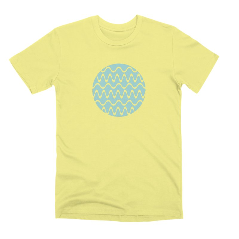 Planet Wave Men's Premium T-Shirt by elizabethreay's Artist Shop