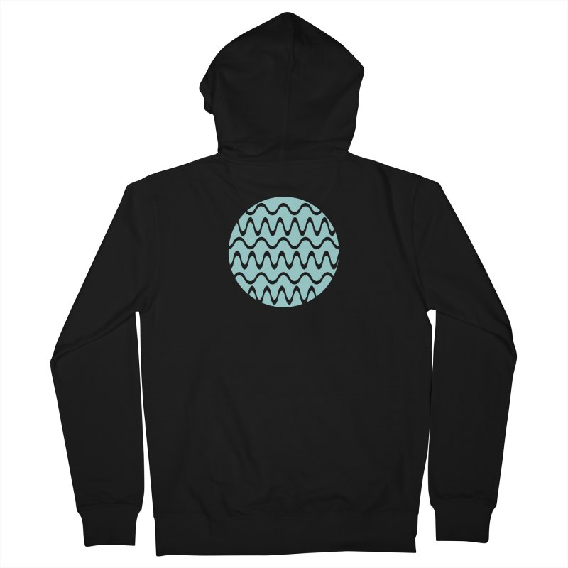 Planet Wave Women's French Terry Zip-Up Hoody by elizabethreay's Artist Shop