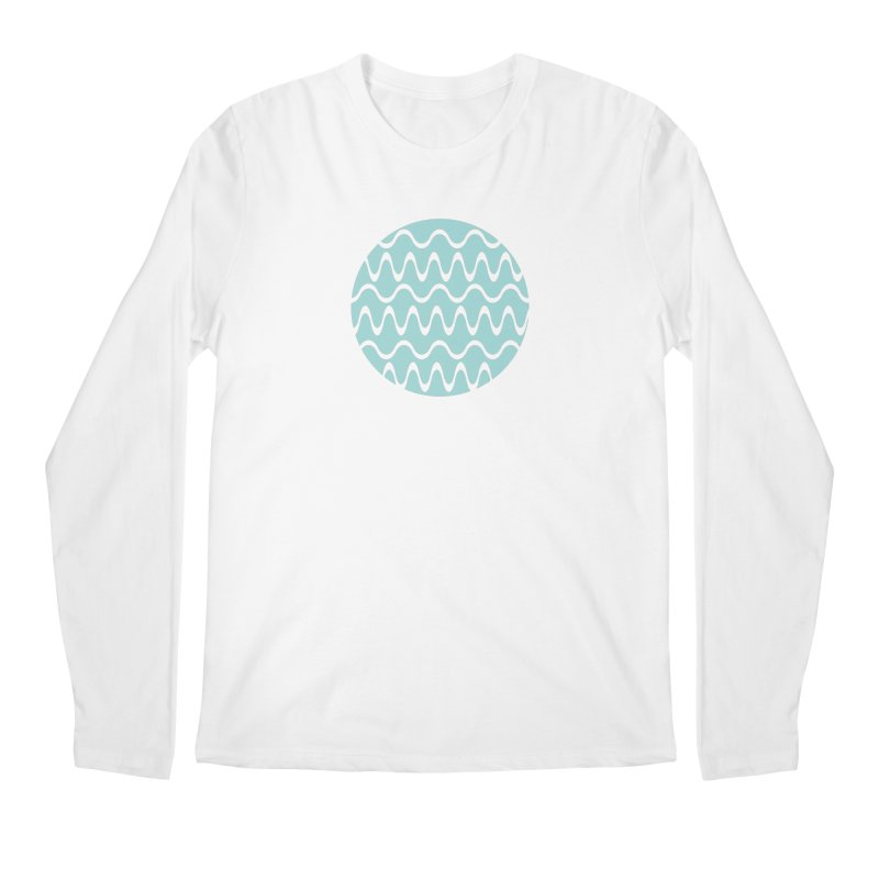 Planet Wave Men's Regular Longsleeve T-Shirt by elizabethreay's Artist Shop