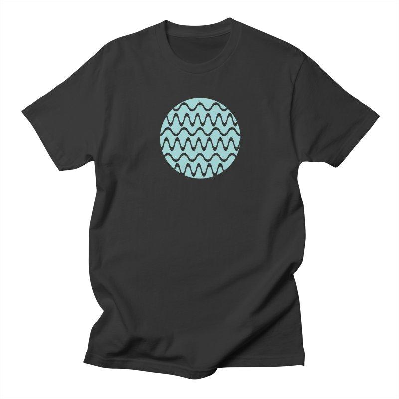 Planet Wave Men's Regular T-Shirt by elizabethreay's Artist Shop