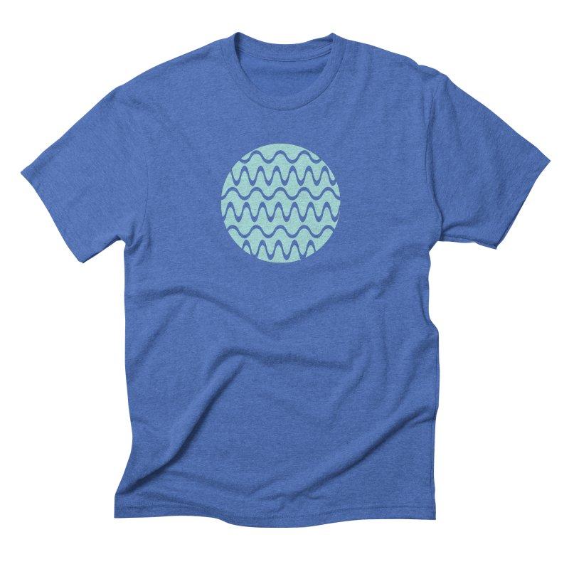 Planet Wave Men's Triblend T-Shirt by elizabethreay's Artist Shop