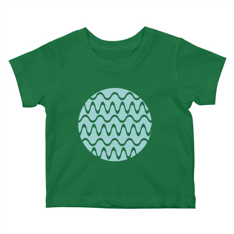 Planet Wave Kids Baby T-Shirt by elizabethreay's Artist Shop