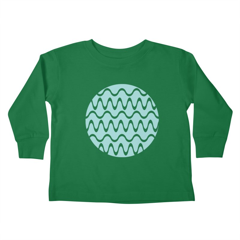 Planet Wave Kids Toddler Longsleeve T-Shirt by elizabethreay's Artist Shop