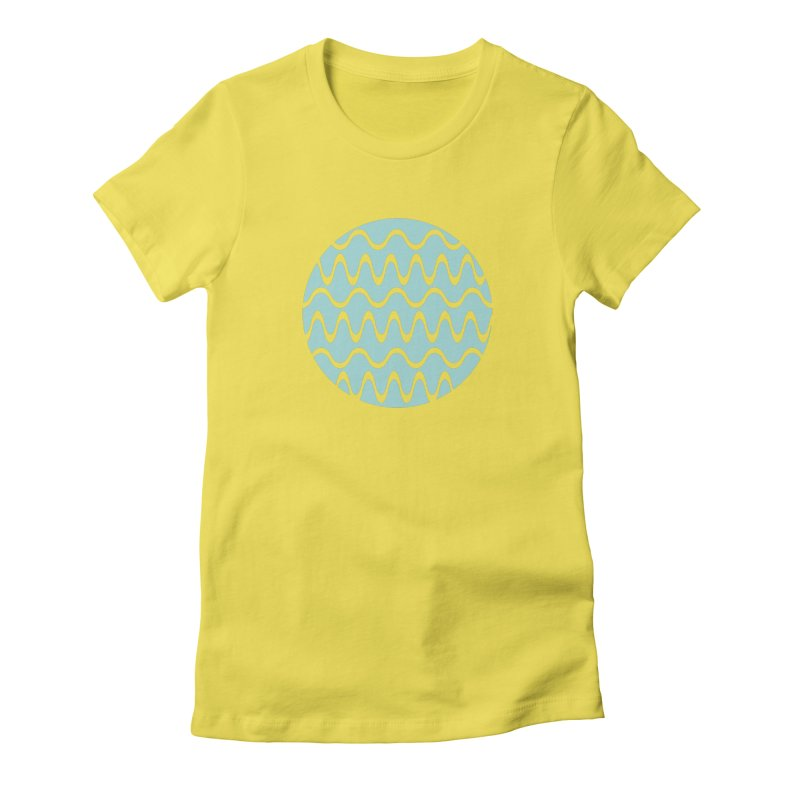Planet Wave Women's T-Shirt by elizabethreay's Artist Shop