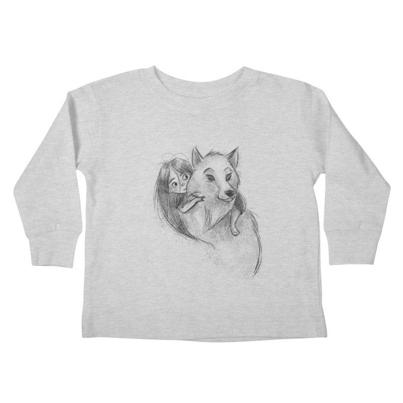 Wolfs Girl   by Elizabet Vukovic's Artist Shop