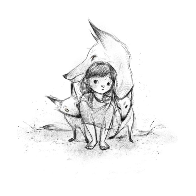Fox Girl by Elizabet Vukovic's Artist Shop