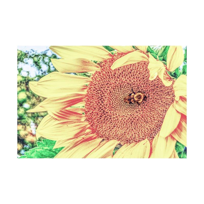 Tumblebee, enhanced Home Throw Pillow by Ella Arrow, Curator of Wonder