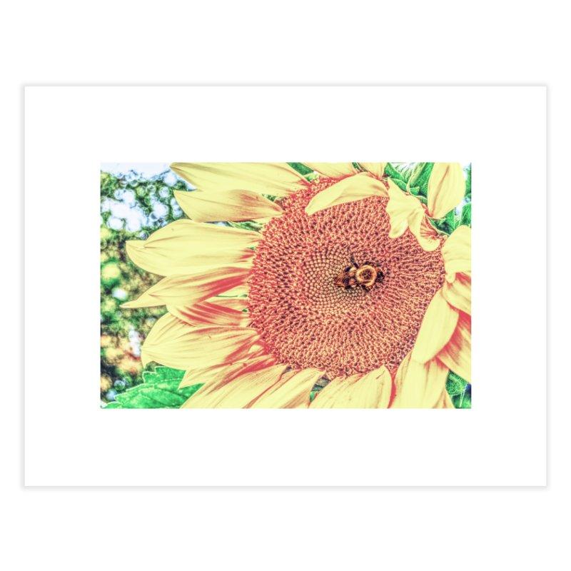 Tumblebee, enhanced Home Fine Art Print by Ella Arrow, Curator of Wonder