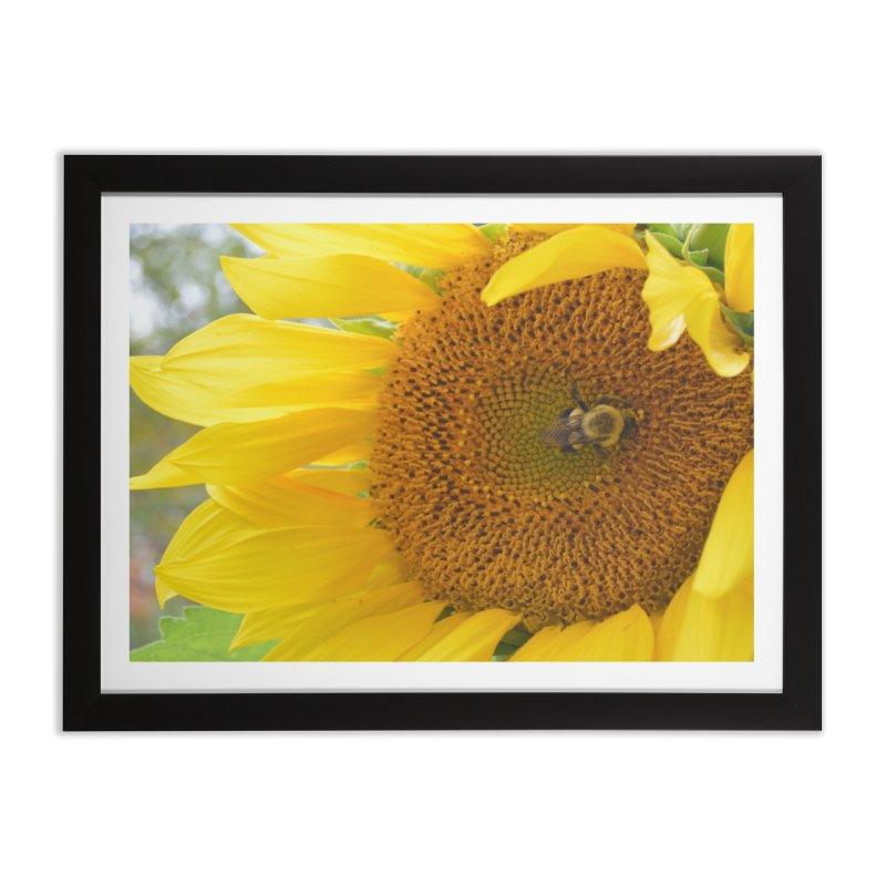 Tumblebee (natural) Home Framed Fine Art Print by Ella Arrow, Curator of Wonder