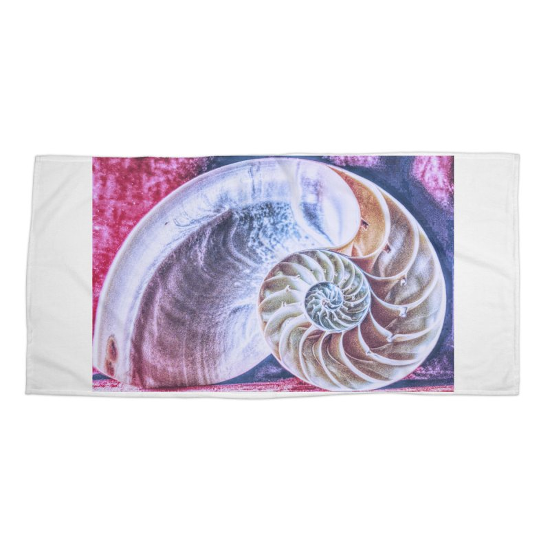 All For Naut Accessories Beach Towel by Ella Arrow, Curator of Wonder