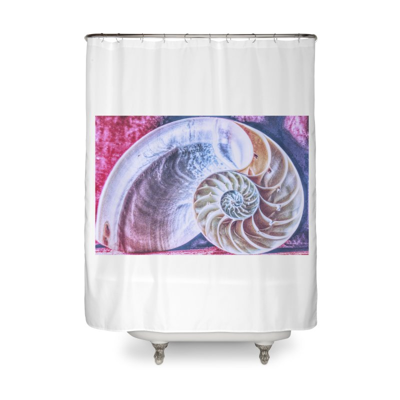 All For Naut Home Shower Curtain by Ella Arrow, Curator of Wonder