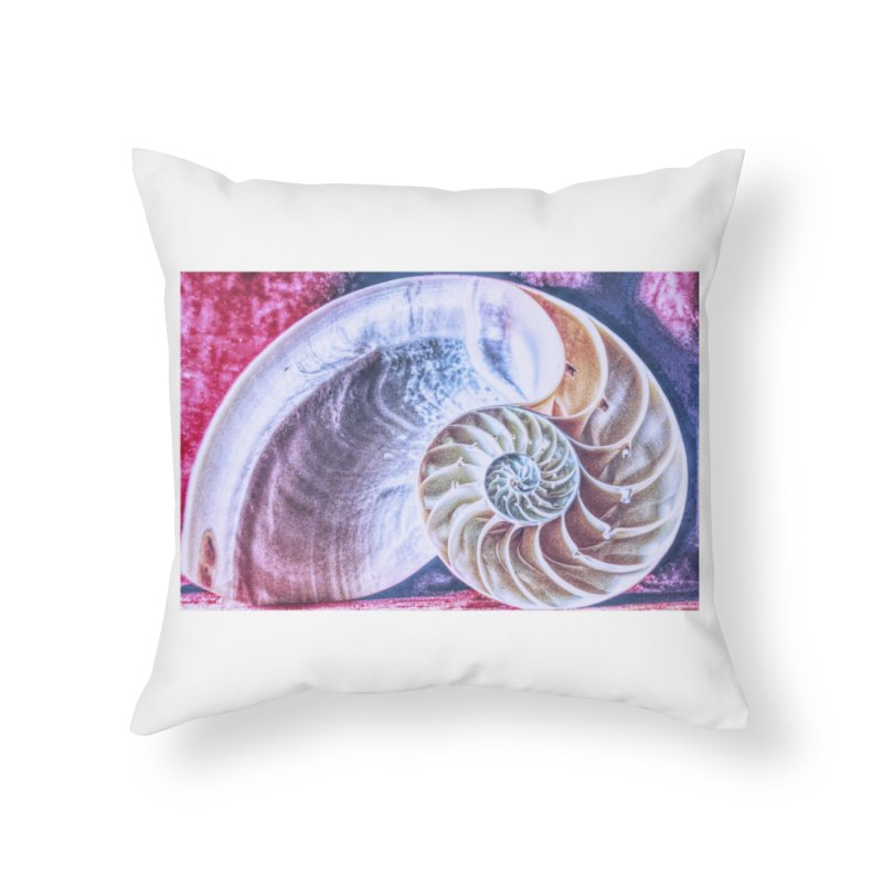 All For Naut Home Throw Pillow by Ella Arrow, Curator of Wonder