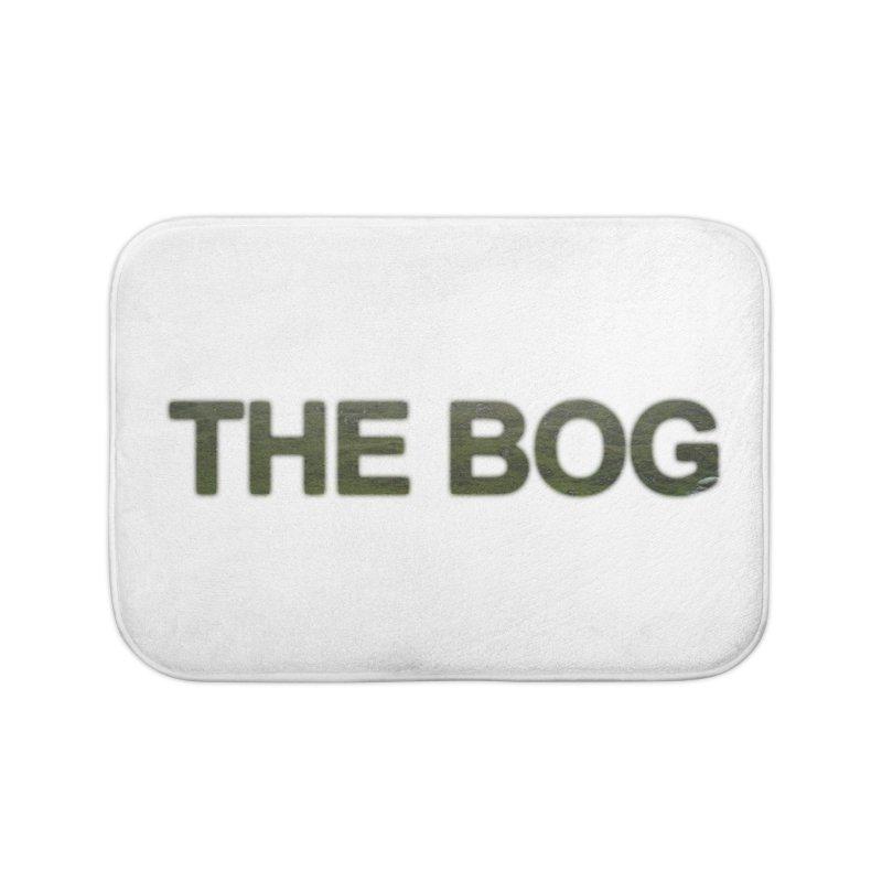 The Bog Sign Home Bath Mat by Ella Arrow, Curator of Wonder