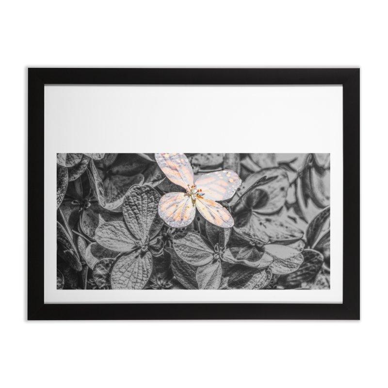 Butterfly Bush Home Framed Fine Art Print by Ella Arrow, Curator of Wonder