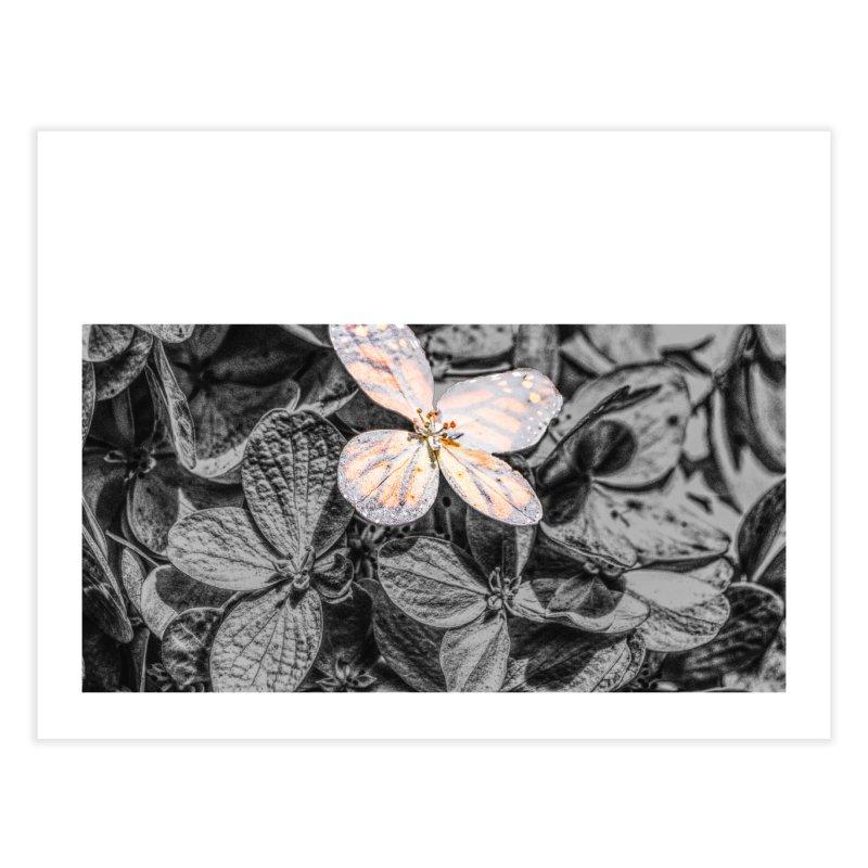 Butterfly Bush Home Fine Art Print by Ella Arrow, Curator of Wonder