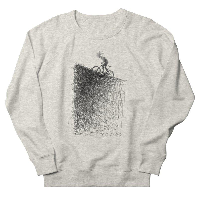 free ride Men's Sweatshirt by ellagershon's Artist Shop