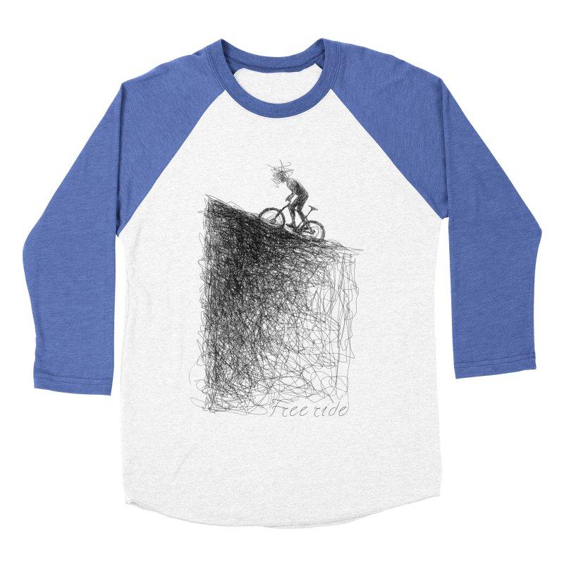 free ride Women's Baseball Triblend Longsleeve T-Shirt by ellagershon's Artist Shop