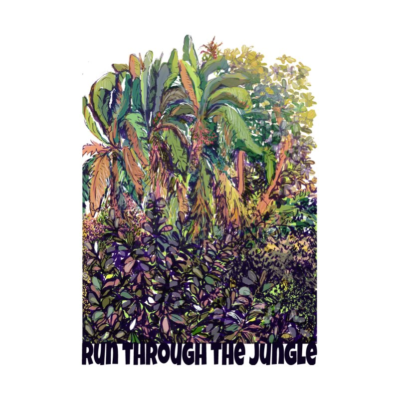 run thru the jungle Home Fine Art Print by ellagershon's Artist Shop