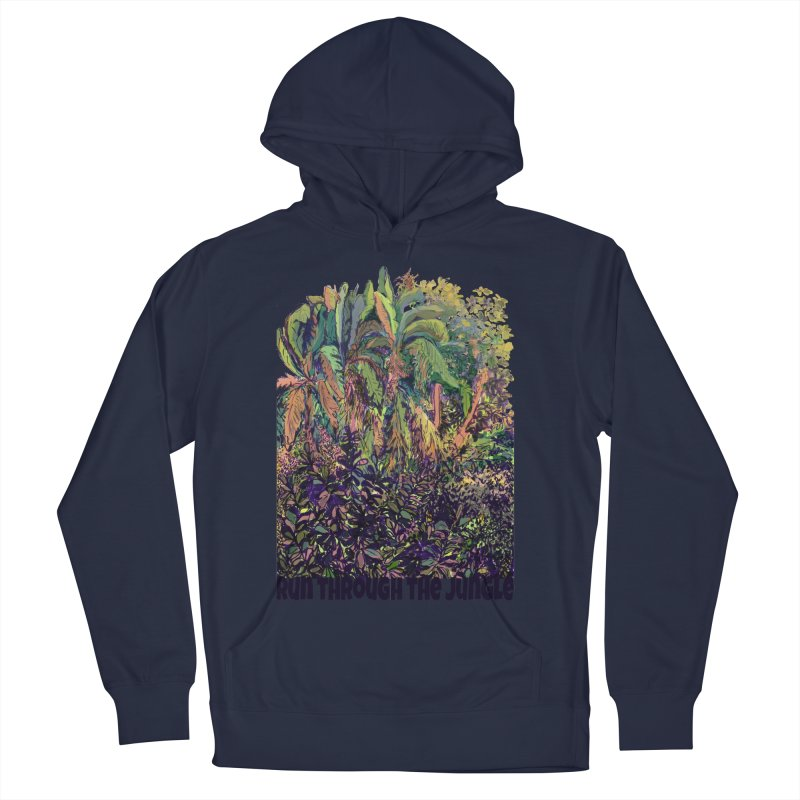 run thru the jungle Women's Pullover Hoody by ellagershon's Artist Shop