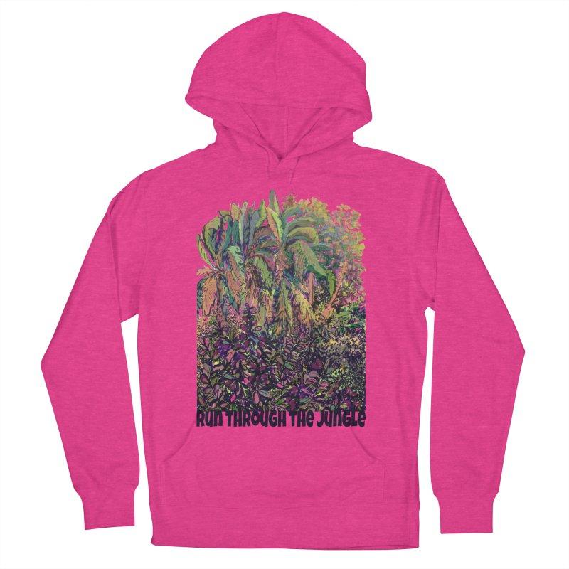 run thru the jungle Men's Pullover Hoody by ellagershon's Artist Shop