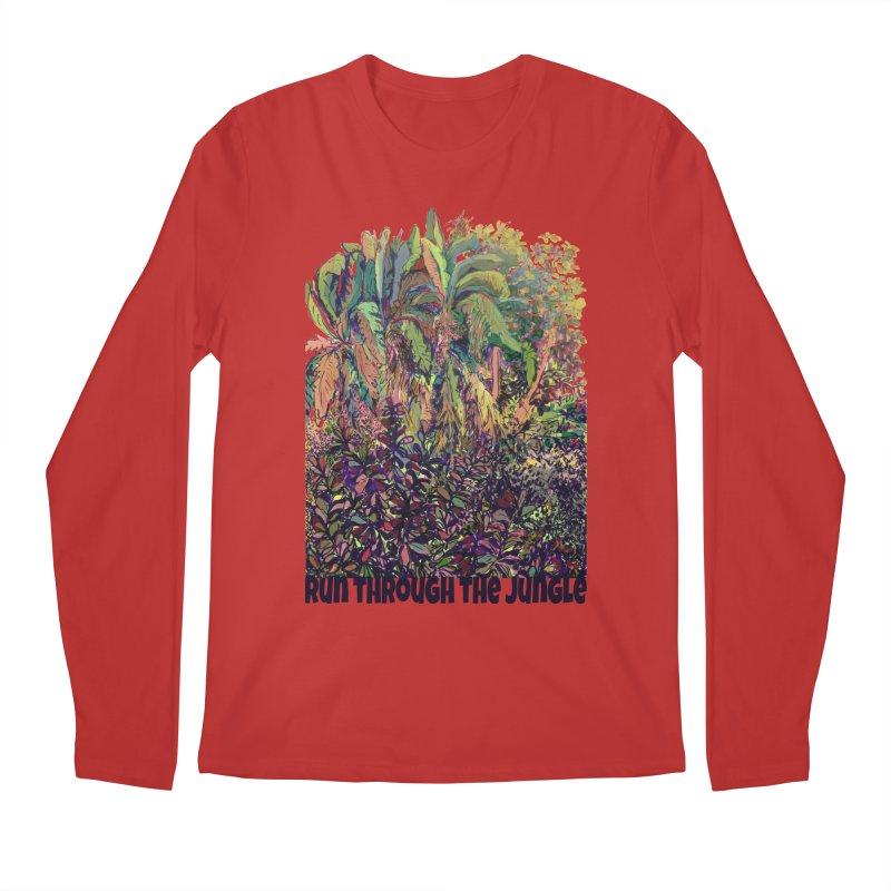 run thru the jungle Men's Longsleeve T-Shirt by ellagershon's Artist Shop