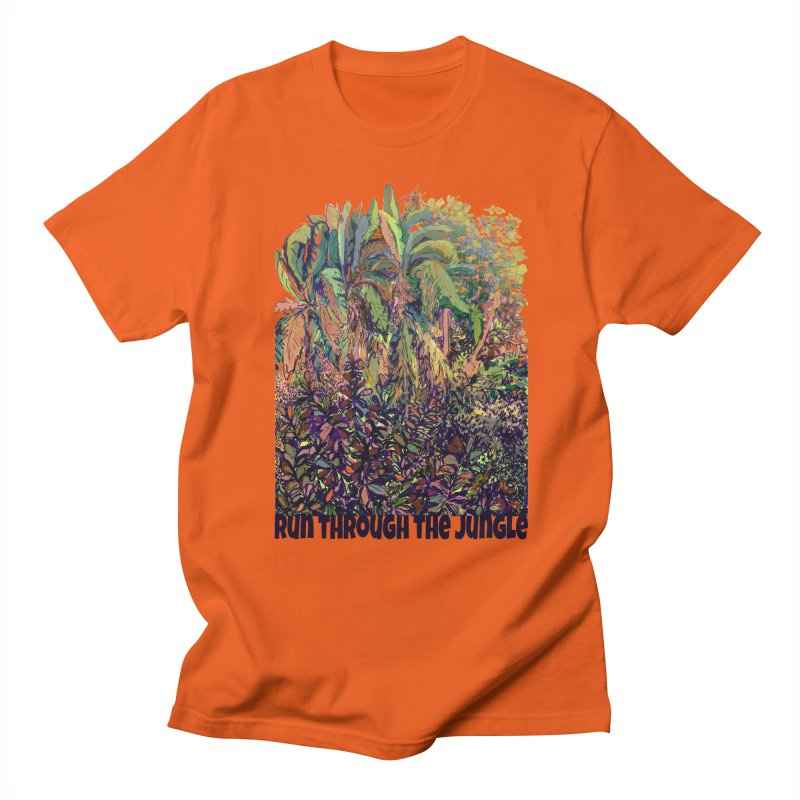 run thru the jungle Men's T-Shirt by ellagershon's Artist Shop