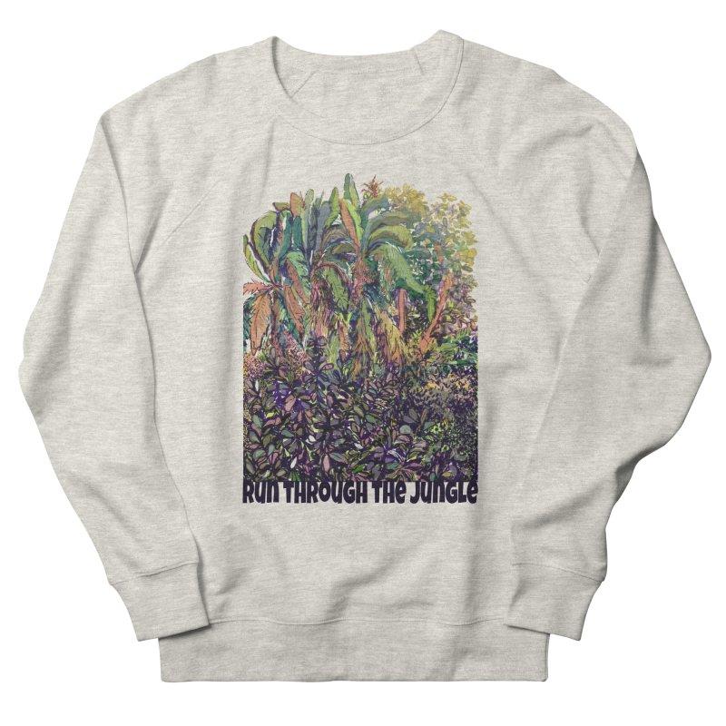 run thru the jungle Women's Sweatshirt by ellagershon's Artist Shop