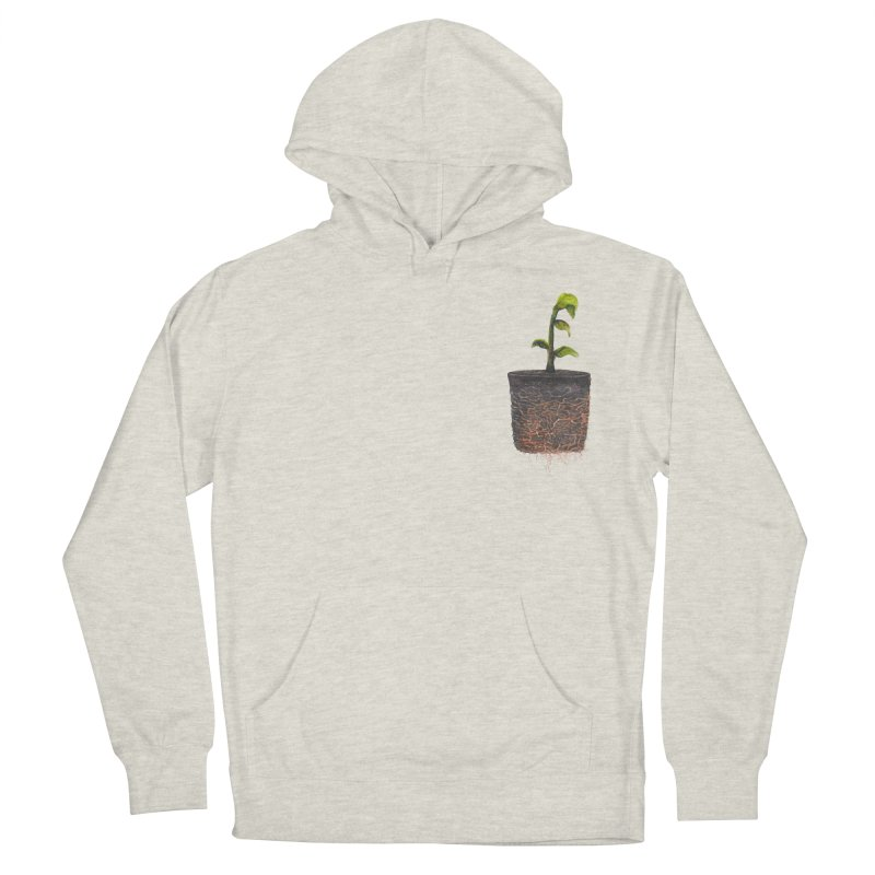 pocket plant Men's French Terry Pullover Hoody by ellagershon's Artist Shop
