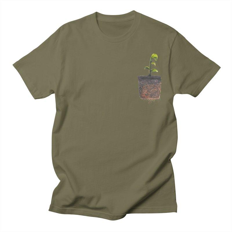 pocket plant Men's T-Shirt by ellagershon's Artist Shop