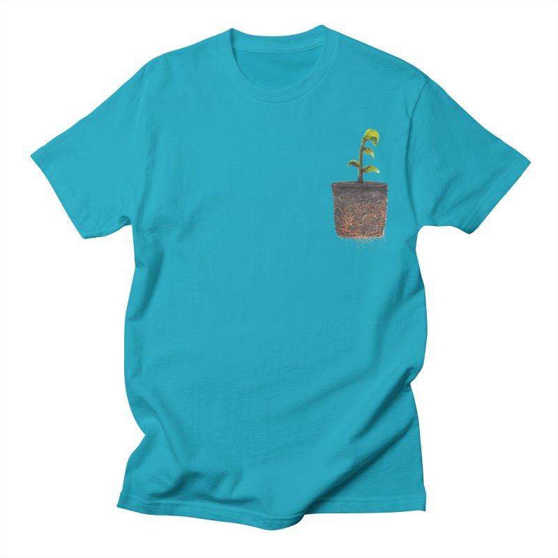 pocket plant Men's Regular T-Shirt by ellagershon's Artist Shop
