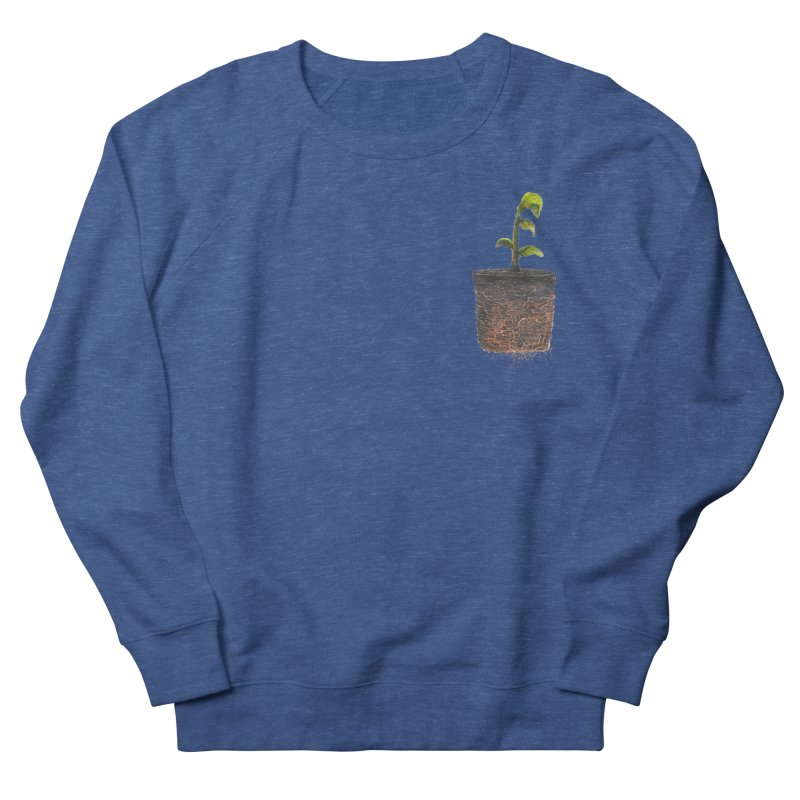 pocket plant Women's French Terry Sweatshirt by ellagershon's Artist Shop