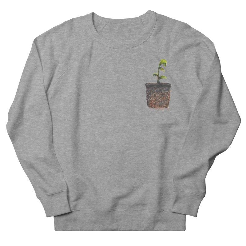 pocket plant Women's French Terry Sweatshirt by ellagershon's Artist Shop