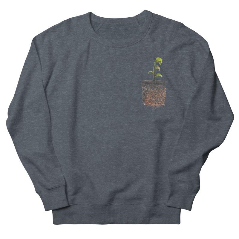 pocket plant Men's French Terry Sweatshirt by ellagershon's Artist Shop