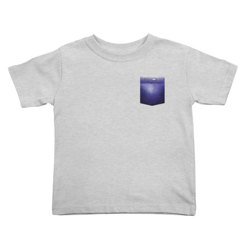fishing in the pocket Kids Toddler T-Shirt by ellagershon's Artist Shop