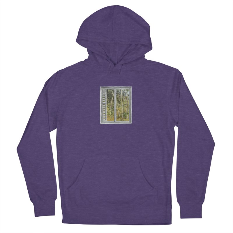 win view  Men's French Terry Pullover Hoody by ellagershon's Artist Shop