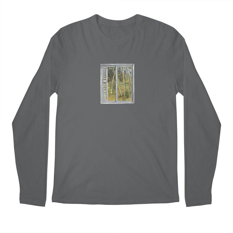 win view  Men's Regular Longsleeve T-Shirt by ellagershon's Artist Shop