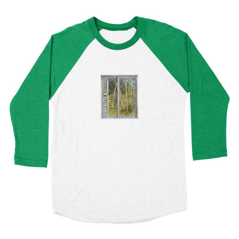 win view  Women's Baseball Triblend T-Shirt by ellagershon's Artist Shop