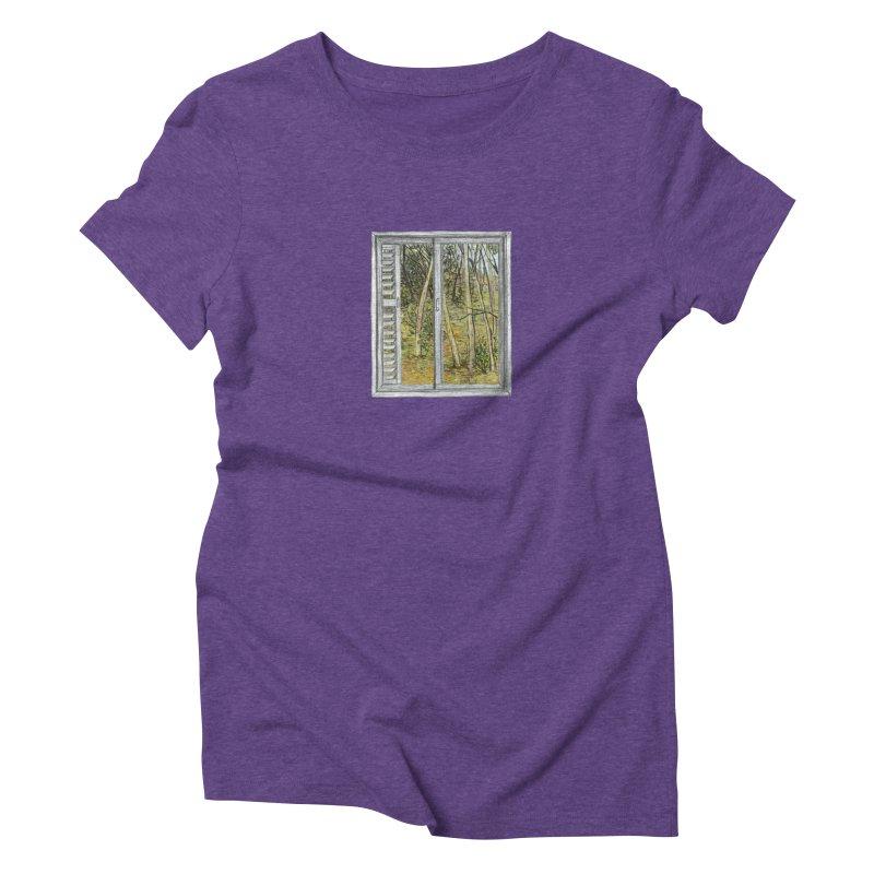 win view  Women's Triblend T-Shirt by ellagershon's Artist Shop