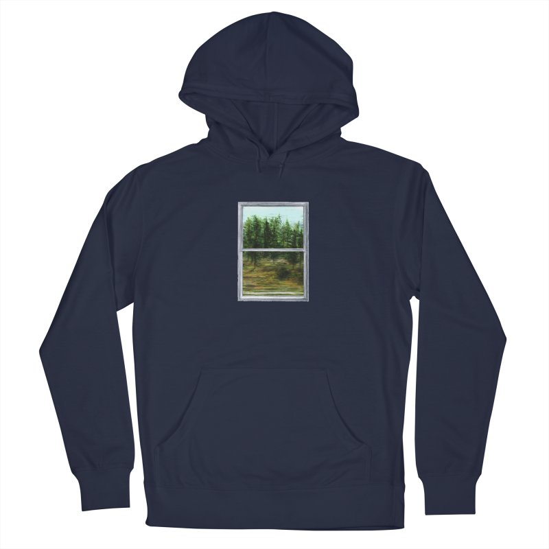 win view - speed Men's French Terry Pullover Hoody by ellagershon's Artist Shop