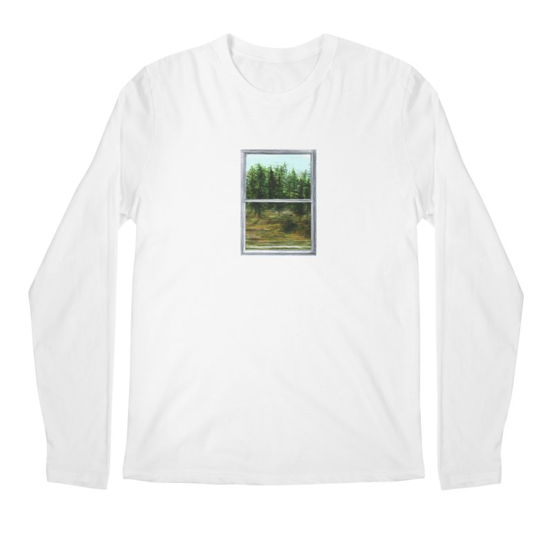 win view - speed Men's Regular Longsleeve T-Shirt by ellagershon's Artist Shop