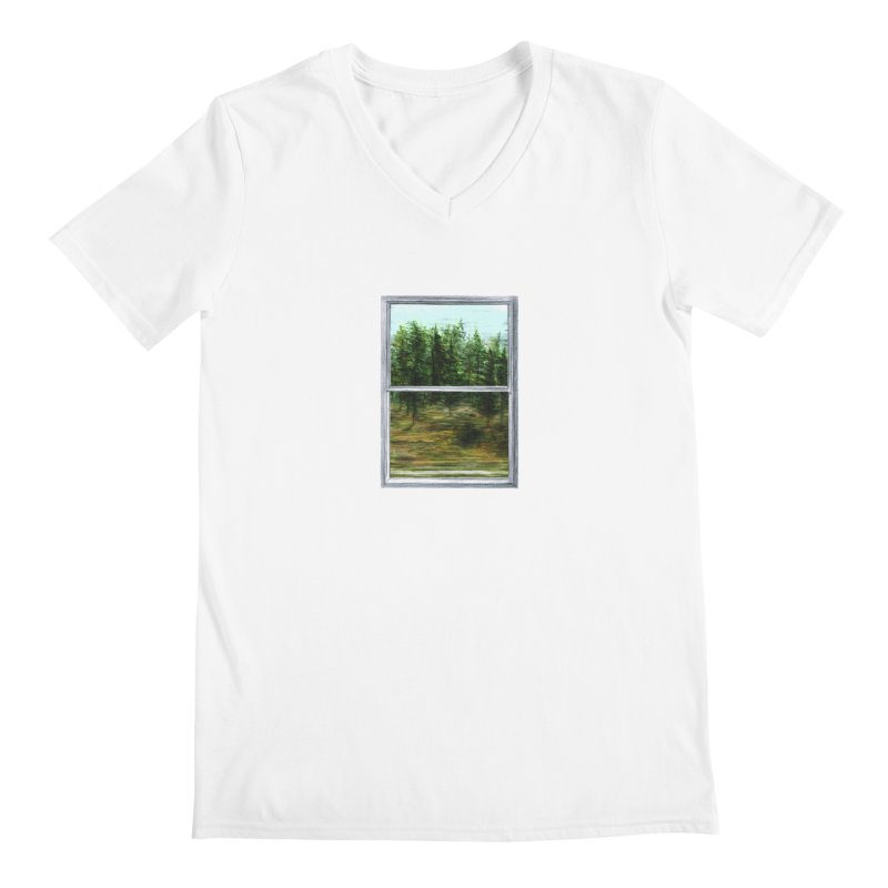 win view - speed Men's Regular V-Neck by ellagershon's Artist Shop
