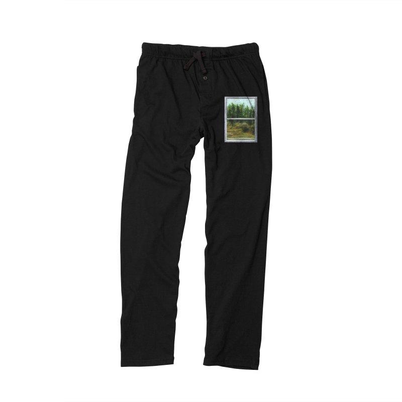 win view - speed Men's Lounge Pants by ellagershon's Artist Shop