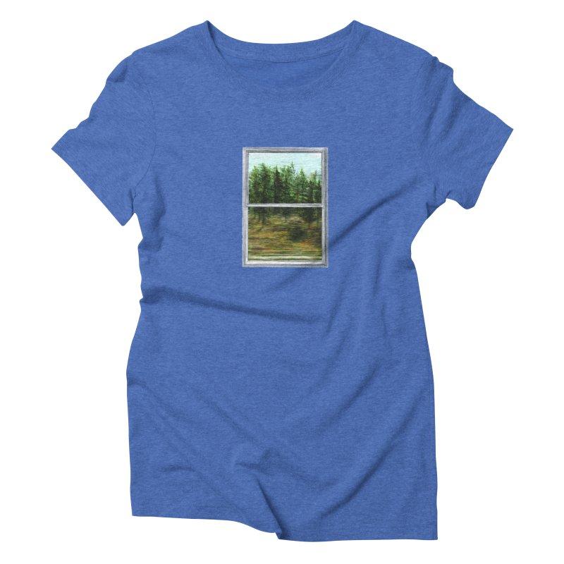 win view - speed Women's Triblend T-Shirt by ellagershon's Artist Shop