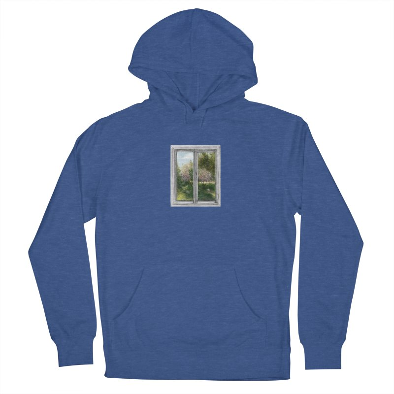 win view - spring Men's French Terry Pullover Hoody by ellagershon's Artist Shop